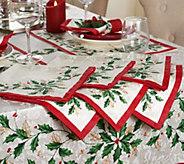 Lenox Holiday Set of 6 20 x 20 Napkins - H210462