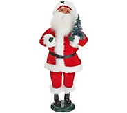 Byers Choice Red Velvet Decorating for Christmas Santa or Mrs.Claus - H212062