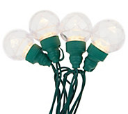 As Is Bethlehem Lights 10ct Orb Plug-In Light Strand - H215462