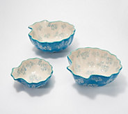 Temp-tations Set of 3 Figural Bowls - H217862