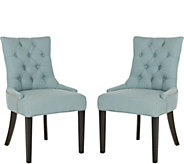 Abby Set of 2 Side Chairs by Valerie - H291662