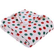 Berkshire Blanket Holiday Polka Dot Throw - H294762