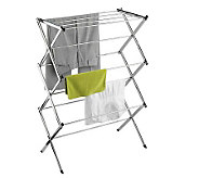 Honey-Can-Do Chrome Commercial Drying Rack - H356562