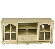 Bristol Antiqued White Media/TV Stand - H156063