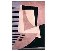 Momeni New Wave Abstract 96 x 136 HandmadeWool Rug - H161764