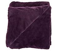 Berkshire Cozy 55x70 Primalush/Plush Fur Polyester Filled Throw - H212264