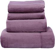 Berkshire Blanket Velvet Soft Cozy King Sheet Set - H212664