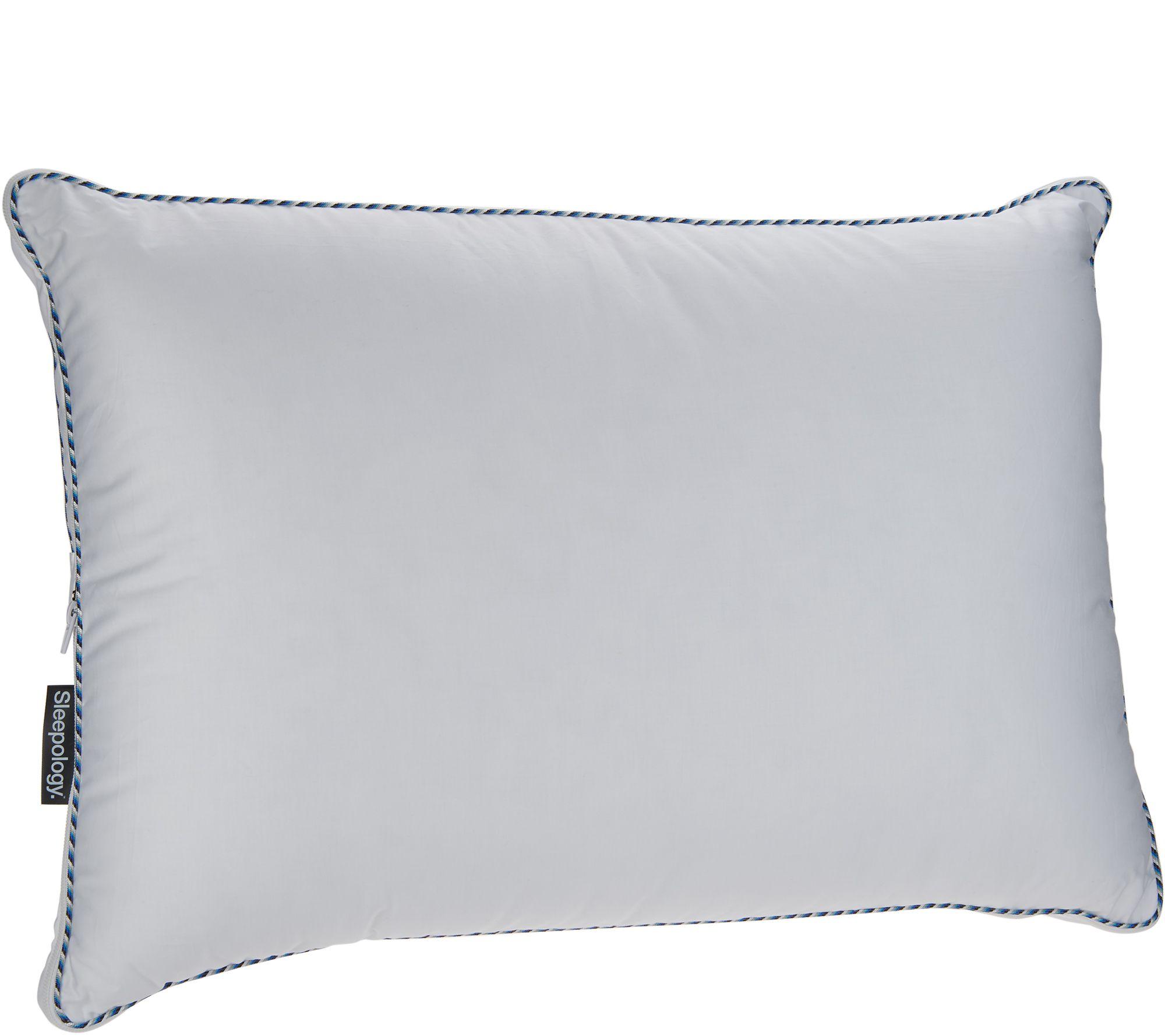 b91b061a77c Sleepology Ideal Slumber Customizable Standard Queen Pillow - Page 1 —  QVC.com