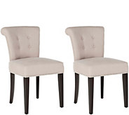 Sinclair Set of 2 Ring Chairs by Valerie - H291664