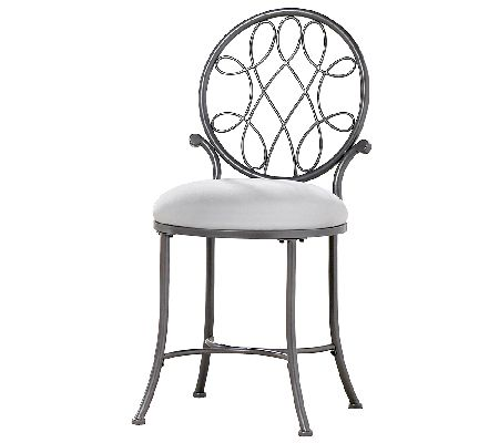 Hillsdale Furniture O Malley Vanity Stool Page 1 Qvc Com