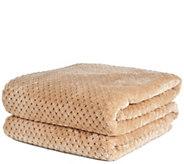 Berkshire Blanket Geometric Shimmersoft Full Blanket - H288265