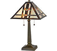 Meyda Tiffany-Style 23.5 Prairie Wheat Table Lamp - H294065