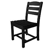POLYWOOD La Casa Cafe Armless Dining Chair - H349865
