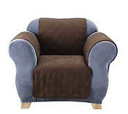 Sure Fit Soft Faux-Suede Furniture Friend Pet Throw - Chair - H174466