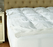 Northern Nights Full Ultra Feather Bed w/ Zip and Wash Cover - H212066
