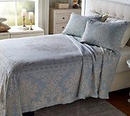 Palmetto 100Cotton Jacquard Woven Bedspread - H213967