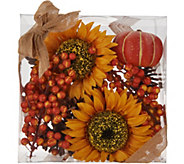Mixed Autumnal Filler with Sunflowers and Berries by Valerie - H216167