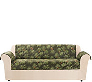 Sure Fit Holiday Plush Sofa Furniture Cover - H292967