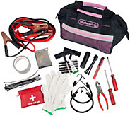 Stalwart 55-Piece Emergency Roadside Kit with Travel Bag - H293167