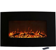 Northwest 36 Curved Color Changing Fireplace - H294167