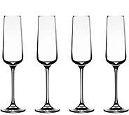Cuisinart Elite Vivere Champagne Flutes - Set of 4 - H302167