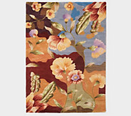 Royal Palace Special Edition Watercolor 5 X 7 Wool Rug - H215868