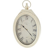 20 Roman Numeral Oval Clock by Valerie - H217768