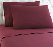 Shavel Micro Flannel(R) Solid Color Twin Sheet Set - H290468