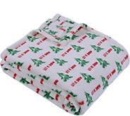 Berkshire Blanket Let it Snow VelvetLoft Throw - H294768