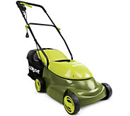 Sun Joe 14 Electric Lawn Mower with Grass Catcher - H188069