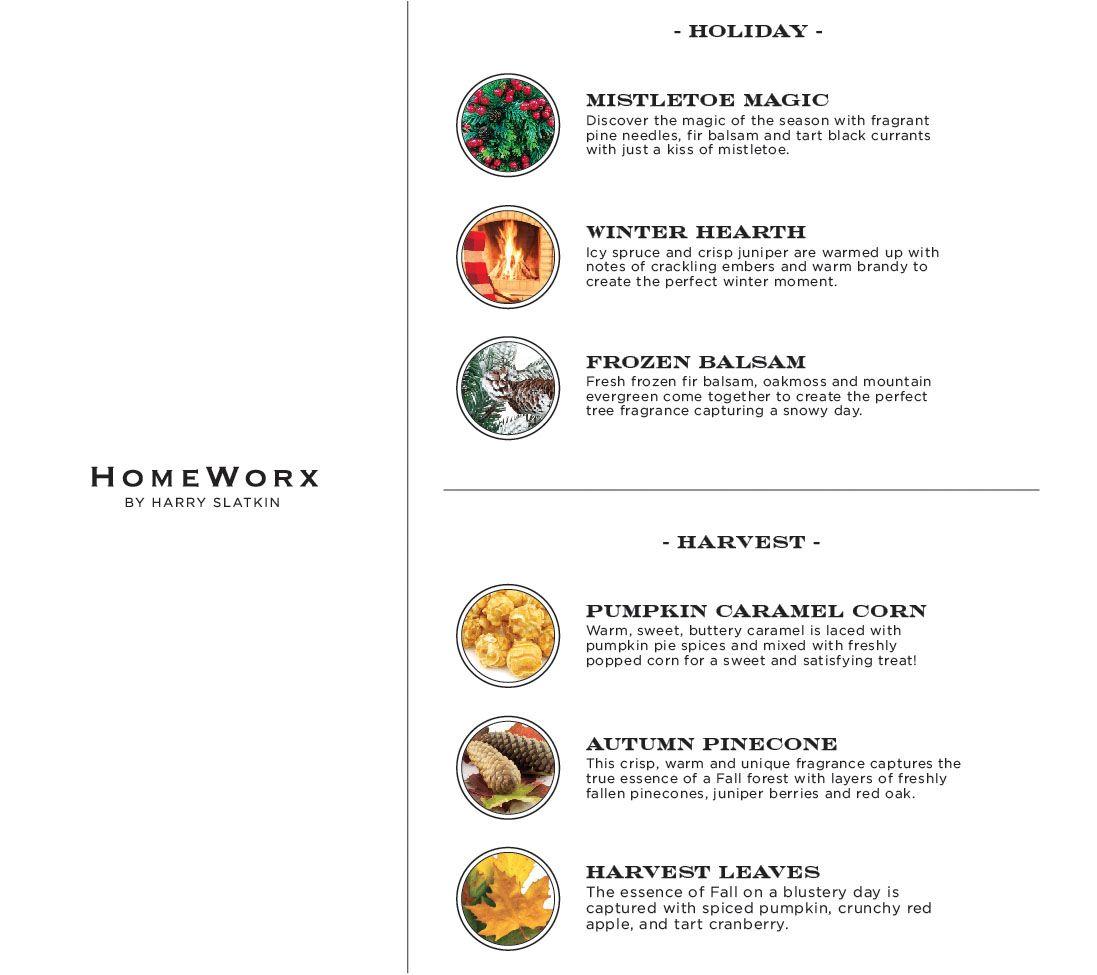 HomeWorx by Harry Slatkin Set of 3 Deluxe 18-oz 4-Wick Candles — QVC com