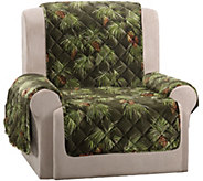 Sure Fit Holiday Plush Recliner Furniture Cover - H292969