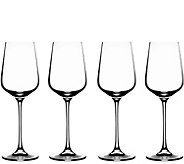 Cuisinart Elite Vivere White Wine Glasses - Setof 4 - H302169