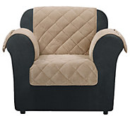 Sure Fit Chair Furniture Cover with Textured Pique Fabric - H209470