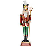 Kringle Express Indoor/Outdoor 52 Oversized Illuminated Nutcracker - H215270