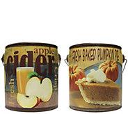 A Cheerful Giver Set of 2 Fall Farm Fresh 20-ozCandles - H289670