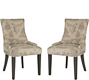 Lester Set of 2 Taupe Dining Chairs by Valerie - H291670