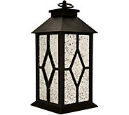 13 Illuminated Indoor/Outdoor Vintage Mercury Glass Lantern by Valerie - H211371