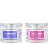 HomeWorx by Harry Slatkin S/2 Special Edition 3Wick Candles - H213671