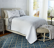 Imperial Medallion 100Cotton Full Embroidered Quilt - H214271