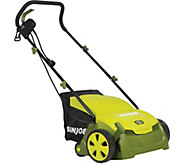 Sun Joe 13 12-Amp Electric Scarifier and LawnDethatcher - H293271
