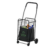 Honey-Can-Do All-Purpose Rolling Utility Cart -Black - H356472