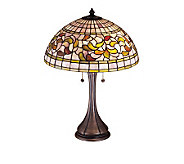 Tiffany Style 23 Turning Leaf Table Lamp - H122473