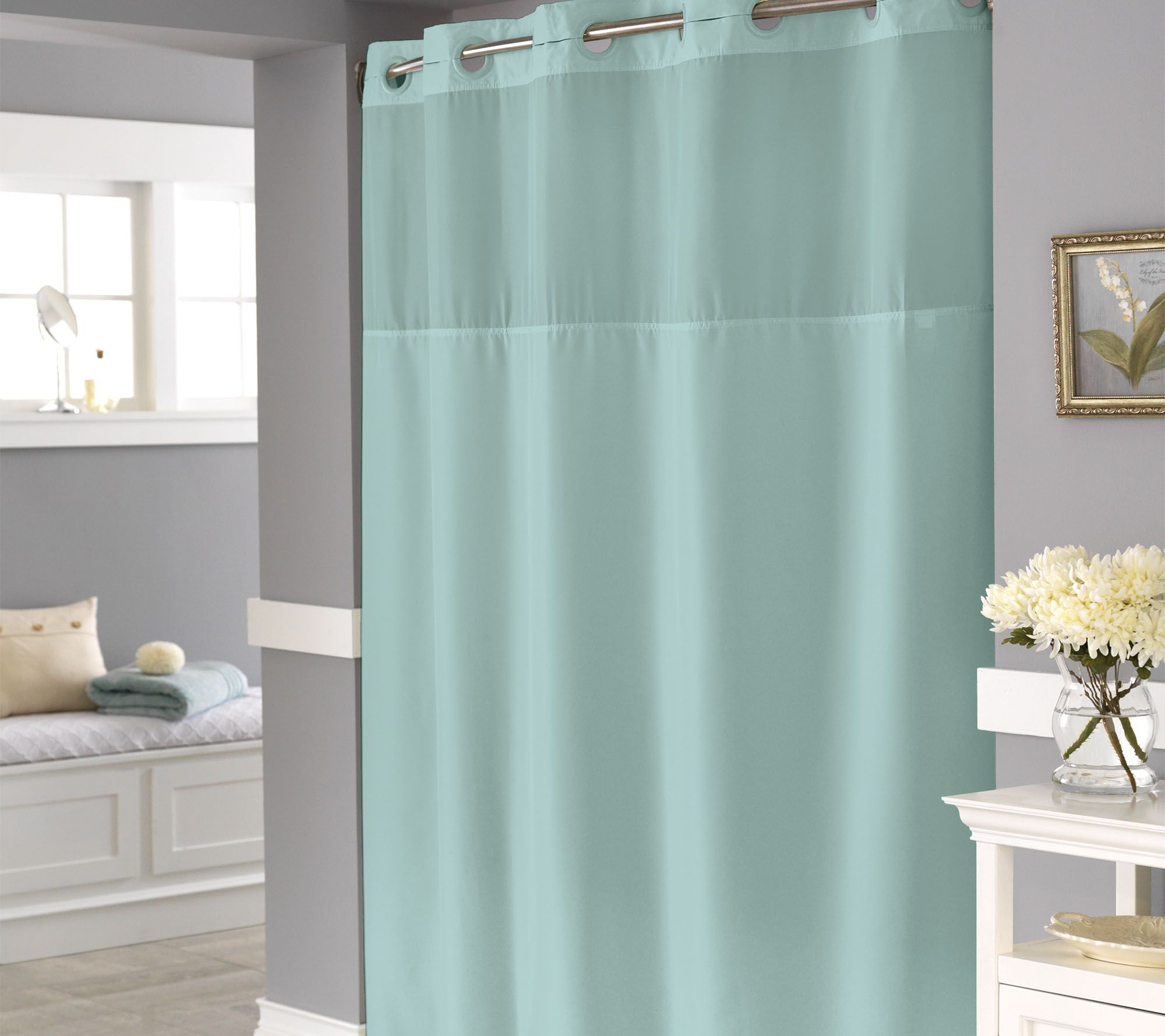 blue curtain bath home overstock orders taupe chevron over shipping clay niantic park shower madison concord alder free product curtains bedding on