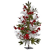 26 Plum Blossom Pine Ice Twig Tree by Nearly Natural - H302673