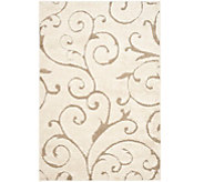 Safavieh 53x76 Scroll Design Florida Shag Area Rug - H209874