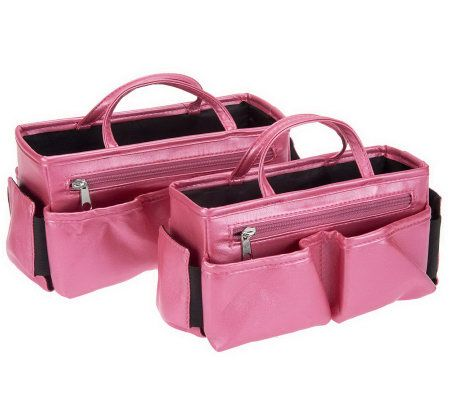 Ready Set Go 2 Piece Bag Organizer With Light By Lori Greiner Page