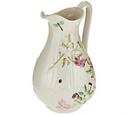 Belleek Floral Springtime Pitcher - H207975