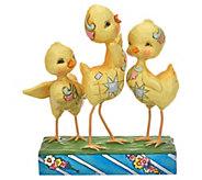 Jim Shore Heartwood Creek Trio of Easter Chicks Figurine - H214575