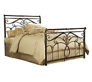 Fashion Bed Group Lucinda Marbled Russet Full Bed - H281075